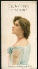 More details for tobacco card, john player & sons, gallery of beauty, 1896, #20 alternative