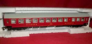 Berliner Bahnen 1:120 Model TT Mitropa Passenger Coach Car 13710 Original Box