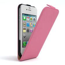 Tasche für Apple iPhone 4 / 4S Flip Case Schutz Hülle Handy Cover Rosa