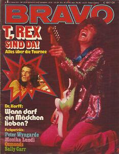 Bravo-Heft Nr.8 aus dem Jahr 1973 / T.Rex