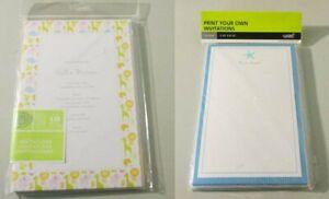 Gartner Printable Invitations Starfish Design (15) - Baby Zoo Animal Design (12)