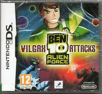 BEN 10 ALIEN FORCE: VILGAX ATTACKS GAME DS DSi Lite 3DS ~ NEW / SEALED