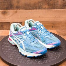 Asics Gel Flux 4 Womens Athletic Shoes Running Walking Comfort Blue Casual Sz 9