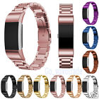 Luxury Retro Stainless Steel Bracelet Smart Watch Band Strap For Fitbit Charge 2
