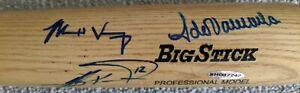 Dodgers Fernando Valenzuela Steve Garvey Jeff Kent Matt Kemp signed bat