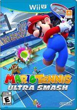 Mario Tennis Ultra Smash [Nintendo Wii U, Sports, Peach, Yoshi, Mini Games] NEW