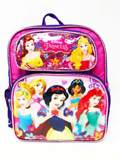 """Disney Princess 12"""" Toddler Backpack. Authentic Brand New."""