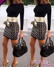 ♥Größe 34-42  Partykleid Abendkleid Tunika Schwarz/Beige+NEU+B535♥