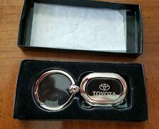 New Toyota Silver Key Chain