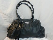 e5df71abe4 PRADA Black Leather Handbags   Purses for Women for sale