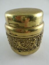 VTG Erhard & Söhne Brass Repousse Spring Cigarette Dispenser Holder - Germany