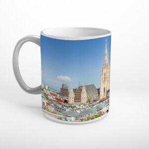 Wien Skyline Tasse Kaffeebecher T1455