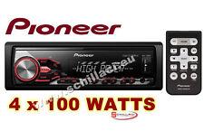 Pioneer MVH-280FD autoradio con amplificatore 4 x100 watts - 2 RCA e TELECOMANDO