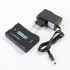 MHL HDMI to SCART AV Video Converter Scaler Adapter for Android Samsung LG to TV