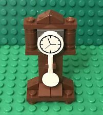 Lego New Grandfather Clock / Home Maker Interior Time Furniture