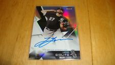 Lucas Giolito Chicago White Sox signed Autograph Auto 2018 Topps Finest card