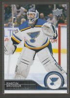 [74801] 2014-15 UPPER DECK MARTIN BRODEUR #41 LOT of 15 Near Mint-Mint