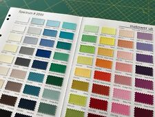 Makower Spectrum Solid Colour 100% Cotton Fabric Quilting Patchwork
