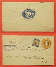 1914 Mexico Tlaxiaco Registered Uprated Stationery