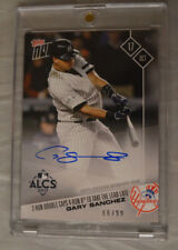 2017 Topps Now Auto #777A Gary Sanchez New York Yankees ALCS #66/99