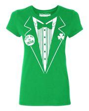 Irish Tuxedo Funny Women's T-shirt St. Patrick's Day tee