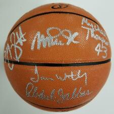 SHOWTIME LAKERS Team Signed Basketball Jabbar Magic Worthy ~ Beckett BAS ITP COA