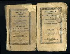 """"""" RACCOLTA COMPLETA DELLE COMMEDIE DI CARLO GOLDONI - Venezia MDCCCXXX (1830)"""