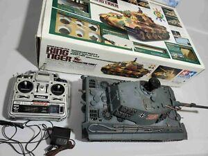 Tamiya King Tiger Full option with apple and radio!