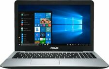 "ASUS 15.6"" HD Laptop Quad Core 3.6GHZ 128GB SSD 8GB RAM Radeon Windows 10 Silver"