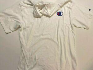 Champion New Short Sleeve Hooded T-Shirt Men's XL