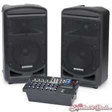 """Samson Expedition XP800 800 Watt Portable PA System with Bluetooth & 8"""" Woofer"""