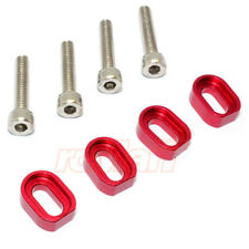 GPM Aluminum Shims & Stainless Steel Screws Set Red For X-Maxx #TXM007-R