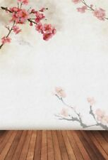 Backdrops Photography  Vinyl  Studio  5x7ft Background Wall Plum Blossom