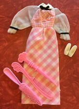 New listing Vintage 1972 Barbie Quick Curl #4220 Dress Shoes Brush Set very Nice