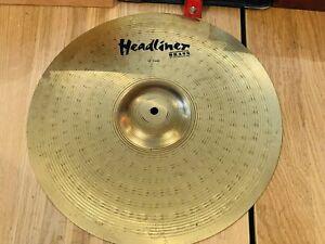 "Meinl 16"" Crash Headliner Brass Cymbal"