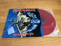 Iron Maiden No Prayer For The Dying  Epic 46905 Limited Edition Red Vinyl