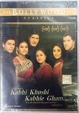 KABHI KHUSHI KABHIE GHAM (SHAHRUKH KHAN, AMITABH, HRITHIK) - BOLLYWOOD DVD