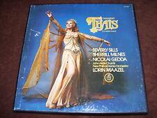 MASSENET THAIS COMPLETE OPERA   LOT OF 3 VINYL RECORDS LPS   BOX SET   CLEARANCE
