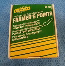 "Fletcher 08-950 Professional FrameMaster Framer's Points "" Box of 3000 """