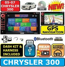 05 06 07 CHRYSLER 300 300C NAVIGATION BLUETOOTH CD/DVD USB BT GPS Radio Stereo