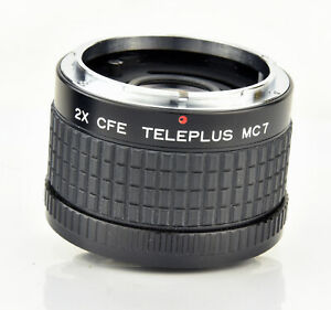 2X CFE Teleplus MC7 2x Teleconverter for Canon FD