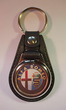 ALFA ROMEO FAUX LEATHER KEY RING / KEY FOB.