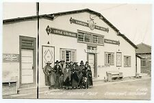 RPPC Native Americans Southwest Indians Colorado Cameron Post Office TradingPost