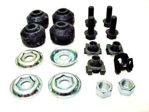 1961-2007 GM Front Shock Absorber Mounting Hardware Kit Bushings Nuts Bolts OEM