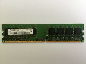 QIMONDA HYS64T64000EU-2.5-B2 512MB DDR2 PC2-6400 800MHz 240-PIN MEMORY