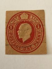 Great Britain embossed stamp