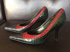 Donald J. Pliner Genuine Crocodile Shoes