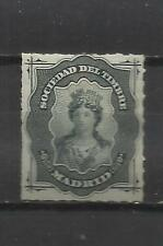 5489-SELLO FISCAL ESPAÑA SOCIEDAD DEL TIMBRE AÑO 1874  LOCAL MADRID