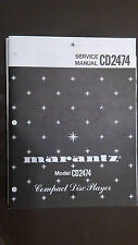 marantz cd2474 service manual repair stereo compact disc cd player