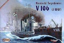 Kaiser Marine SMS V 106 (WW 1) , 1/400, MIRAGE HOBBY 400208